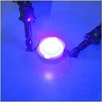 3W UV Boncuk Power Led 380-385nm 700 mAh Ø 8mm 3.2-3.4V