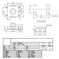 W310 5-Pin SMD Reset Basma Düðmesi Anahtarý 662.5 MM