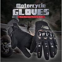 Motosiklet Profesyonel Eldiven 3D Korumalý Kaydýrmaz