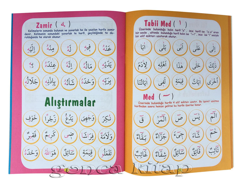 çocuklar Için Renkli Resimli Boyamalı Kuran Elifbası Bera Yayınları