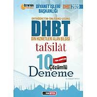 M.Ümütli 2020 DHBT Tüm Adaylar Tafsilat Çözümlü 10 Deneme Sýnav