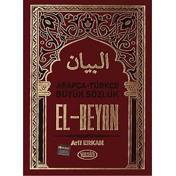 Arapça Türkçe Lügat El Beyan
