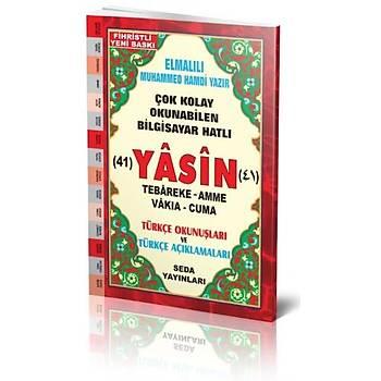 Çanta Boy 41 Yasin Cüzü Türkçeli, Seda Yayınları
