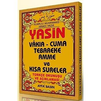 Çanta Üçlü Yasin Türkçeli, Fihristli