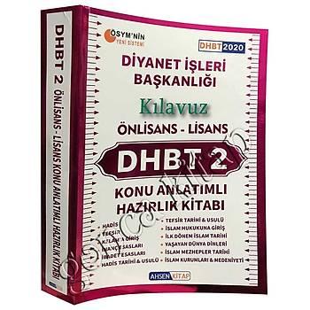 2020 Klavuz DHBT 2 Konu Anlatýmlý Hazýrlýk Kitabý