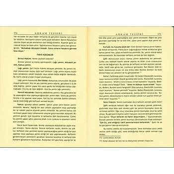 Ahkam Tefsiri Tercümesi, Muhammed Ali Sabuni, 2 Cilt