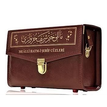 30 Cüz Kuranı Kerim, Karşılıklı Mealli, Çantalı