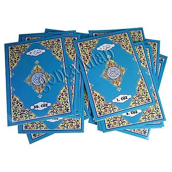 Kuraný Kerim Hatim Seti, 30 Cüz, Mavi