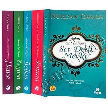 Nurdan Damla Adanmış Ömürler, 5 Kitap Set