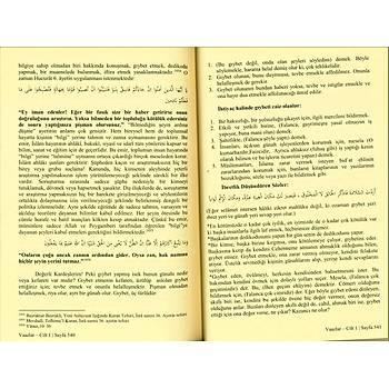 Vaazlar Türkçe Arapça , 4 Cilt Takım