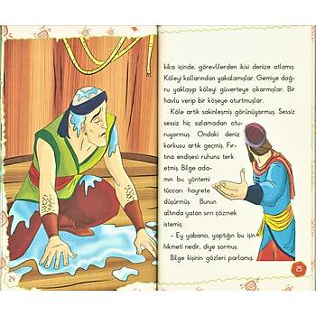 Masallarla Karakter Eğitimi Kitap Serisi, 5 Kitap
