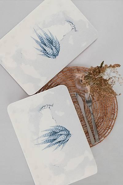 Blue Magic 2'li Siera Servis Tabak Seti 31*21cm