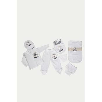 Hastane Çýkýþ Seti - Ginkgo Baby Wear  (Patik hediyeli )