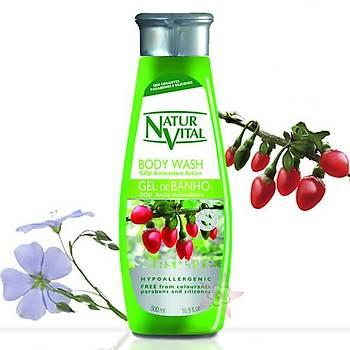 NaturVital Bady Wash Gel de Banho - Vücut Þampuaný 500 ml