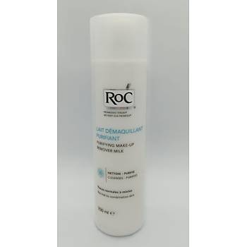 Roc Purifying Make-Up Remover Milk 200 Ml - Makyaj Temizleme Sütü