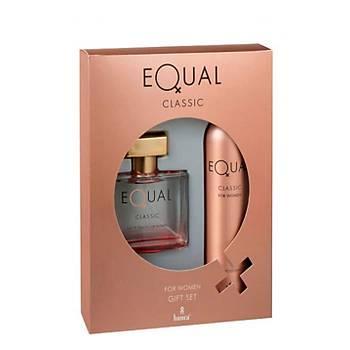 Equal Bayan Clasýk Cofre (Parfüm 75 ml +Deodorant 150 ml)