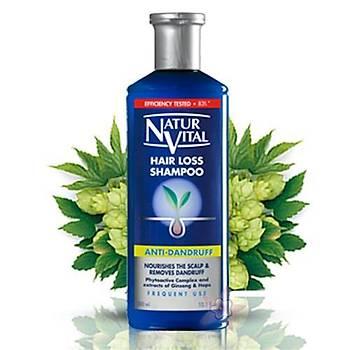 NaturVital HairLoss Þampuan-Kepekli Saçlara 300 ml