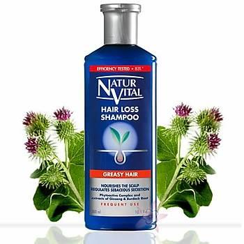 NaturVital HairLoss Þampuan -Yaðlý Saçlar için