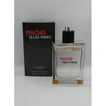 Massi Moore Erkek Parfüm Macho 100 Ml