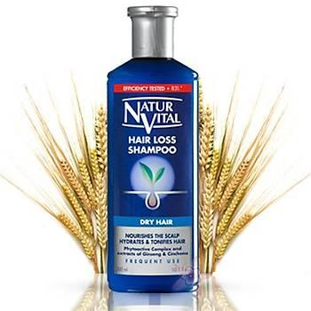 NaturVital HairLoss Þampuan - Kuru saçlar için 300 ml