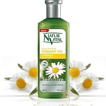 Natur Vital Sensitive Camomile Shampoo 300ml