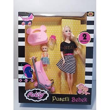 Pusetli Barbie Bebek
