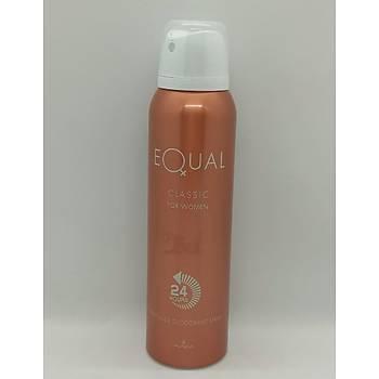 Equal Classýk Bayan Deodorant 150 Ml