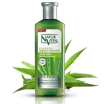 NaturVital Moisturiser Aloe Vera Þampuan 300 ml