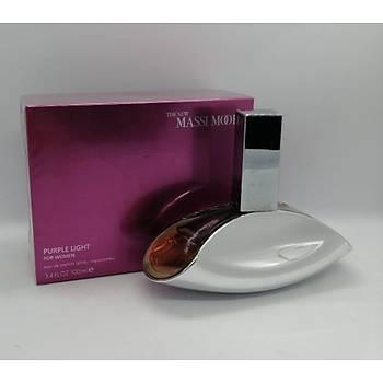 The New Massi Moore Purple Lýght Kadýn Parfüm 100 ML