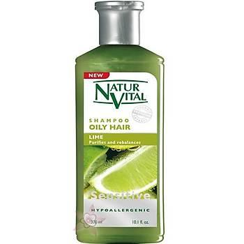 NaturVital Oily Hair Lime Þampuan- Yaðlý Saçlara Özel