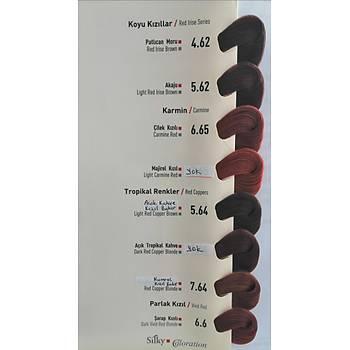Silky Coloration Saç Boyasý (Bitkisel Ýçerikli) Oksidanýyla Birlikte