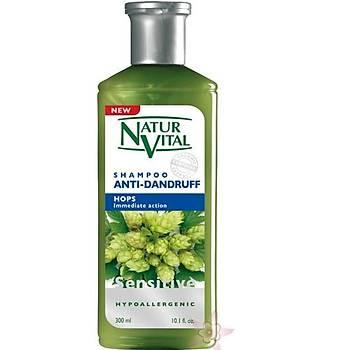 NaturVital Anti-Dandruff Hops Þampuan 300 ml
