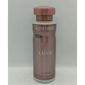 The New Massi Moore Love Kadýn Deodorant 200 Ml