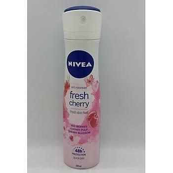 Nývea Fresh Cherry Kadýn Deodorant 150 Ml