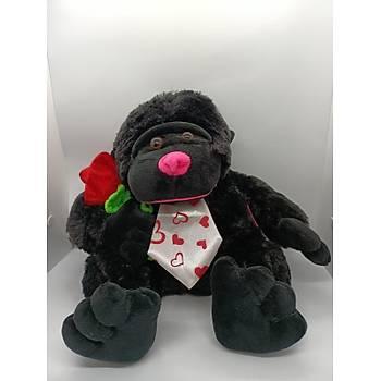 Çiçekli Goril 28 CM