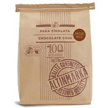 Altýnmarka Sütlü Pul Çikolata 5kg