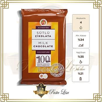 Altýnmarka Kuvertür Çikolata 2,5kg - Sütlü (%34)