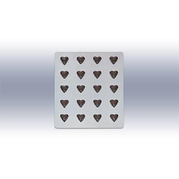 Pet Çikolata Kalýbý - Kalp