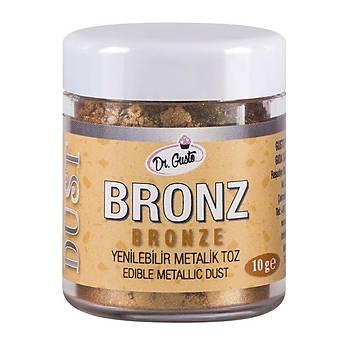 Dr.Gusto Yenilebilir Metalik Toz Boya 10gr - Bronz