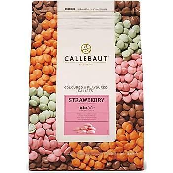 Callebaut Çilek Pul Çikolata 2,5kg