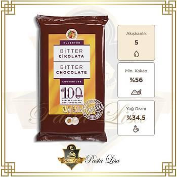 Altýnmarka Kuvertür Çikolata 2,5kg - Bitter (%56)