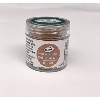 Dr.Gusto Yenilebilir Metalik Toz Boya 4gr - kahve