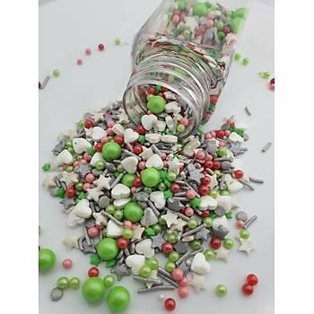 Dr. Gusto Mix Þekerleme  (Sprinkles) 100gr No:10