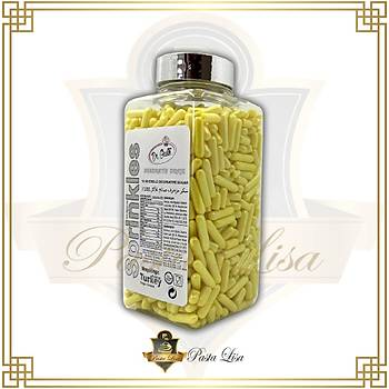 Dr. Gusto Soft Çubuk Draje (Sprinkles) 250gr - Sarý