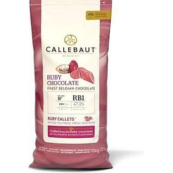 Callebaut Ruby Pul Çikolata 10kg