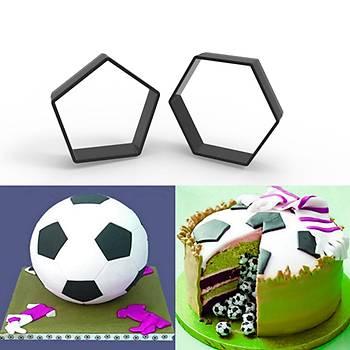 Futbol Topu Kesici Set 2'li