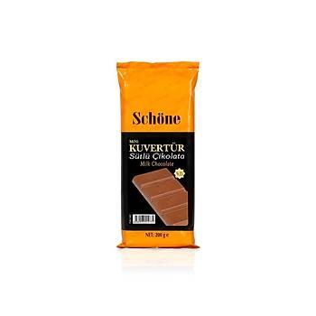 Schöne Sütlü Mini Kuvertür Çikolata 200g