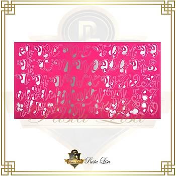 Stamp Curly Kaligrafi Set- Medium