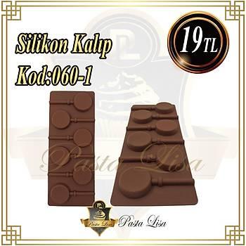 Silikon Kalýp - 6'lý Lolipop