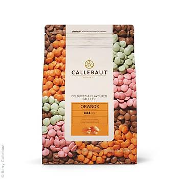 Callebaut Orange Pul Çikolata 2,5kg